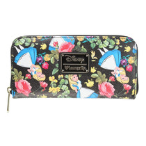 Alicia / Alice In Wonderland Exclusiva Cartera Floral Disney