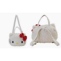 Hello Kitty Linda Bolsa / Mochila Peluche Sanrio Japon 100%