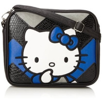 Hello Kitty Bolsa Estilo Crossbody Chevron Sanrio Loungefly