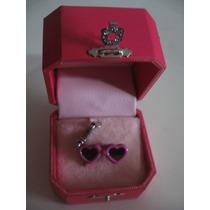 Juicy Couture Charm Lentes Original Bolsa Pulsera Estuche