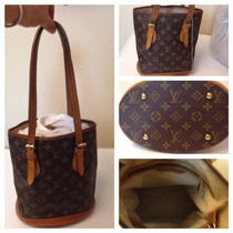 Bolsa Louis Vuitton Bucket Bolsa Louis Vuitton Monogram Lv