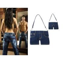 Bolsa Mezclilla Tipo Jeans