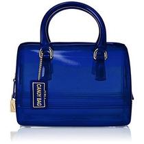 Bolsa Furla Caramelo Galleta Mini Taleguilla Azul