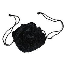 Bolsa Lujo Dolly / Noche Negro Velevt Beaded Handbag