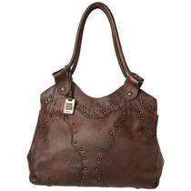 Bolsa Frye Vintage Stud Shoulder Handbag Ifs Femenino