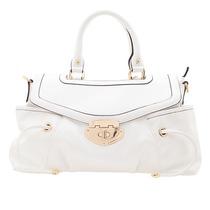 Elegante Bolsas Color Blanco. Nueva
