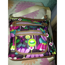 Bolsa Lily Bloom - Tipo Messenger - Original - Seminueva