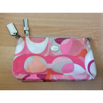 Bolsa Cartera Clutch Coach Patent Leather Colores Original