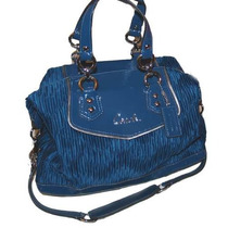 Bolsa Coach Ashley Gathered Satin Satchel Femenino