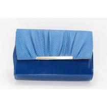 Bolsa Azul Charol B39