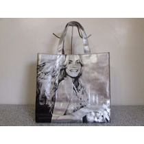 Victorias Secret Bolsa Tote Plateada (gussi Fashion)