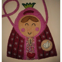 New Bolsa Rosa De Tela Virgencita Distroller Original Virgen
