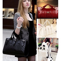 Moda Japonesa Bolsa Cartera Mochila Panda Vintage Env Gratis