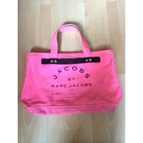 Bolsa Marc Jacobs Tote Rosa Fucsia Piel 100% Original!!