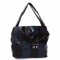 Bolsa Chococat Negra Con Azul