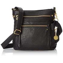 Bolsa Jessica Simpson Alicia Cremallera Cross Body Bag Negr