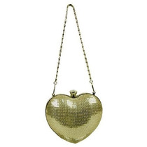 Bolsa Corazón Mg Colección Brillante De Lentejuelas En Form