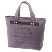 Bolsa Marc By Marc Jacobs Artisan Lienzo Shopper Tote Negro
