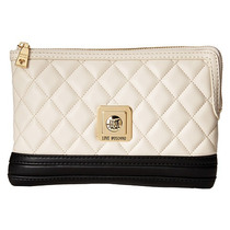 Love Moschino Quilted Marfil