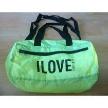 Bolsa Maleta I Love Forever 21 Neon 100% Original!!