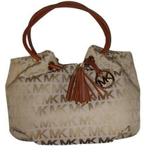 Bolsa Michael Michael Kors Medio East West Anillo De Mano B