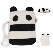 Bolsa Panda Mensajero Cute Kawaii Mujer Niños Mochila Unisex