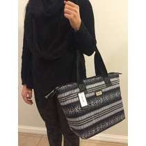 Bolsa De Mano Nine West Negro Blanco 100% Original Nueva