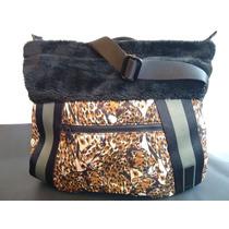 Bolsa Puma Animal Print/peluche 41 X40cm Antes$1599