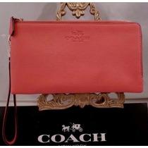 Cartera Coach, Nueva, Original, Envio Gratis, 2,100