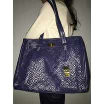 Tommy Hilfiger Bolsa Color Azul Tipo Shopper