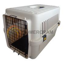 Jaula Tranportadora Para Mascotas 61x40x39 Viajes En Avion