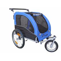 Carro Para Perro Booyah Large Pet Bicycle Bike Trailer