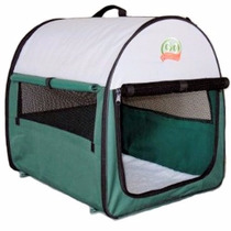 Corralito Tienda Portable Para Mascotas Perro Gato Verde