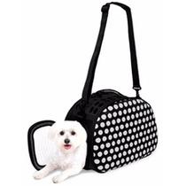 Transportador Bolsa Para Gato Perro Tipo Monedero Con Correa