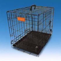 Jaula Metalica Plegable Mediana Doggy 76.5x 48x 53.5cm