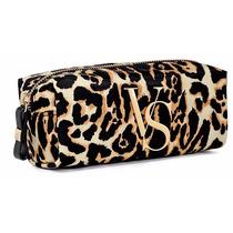 Victorias Secret Leopard Print Cosmetic Case