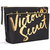 Victorias Secret The Vs Double Zip Bag