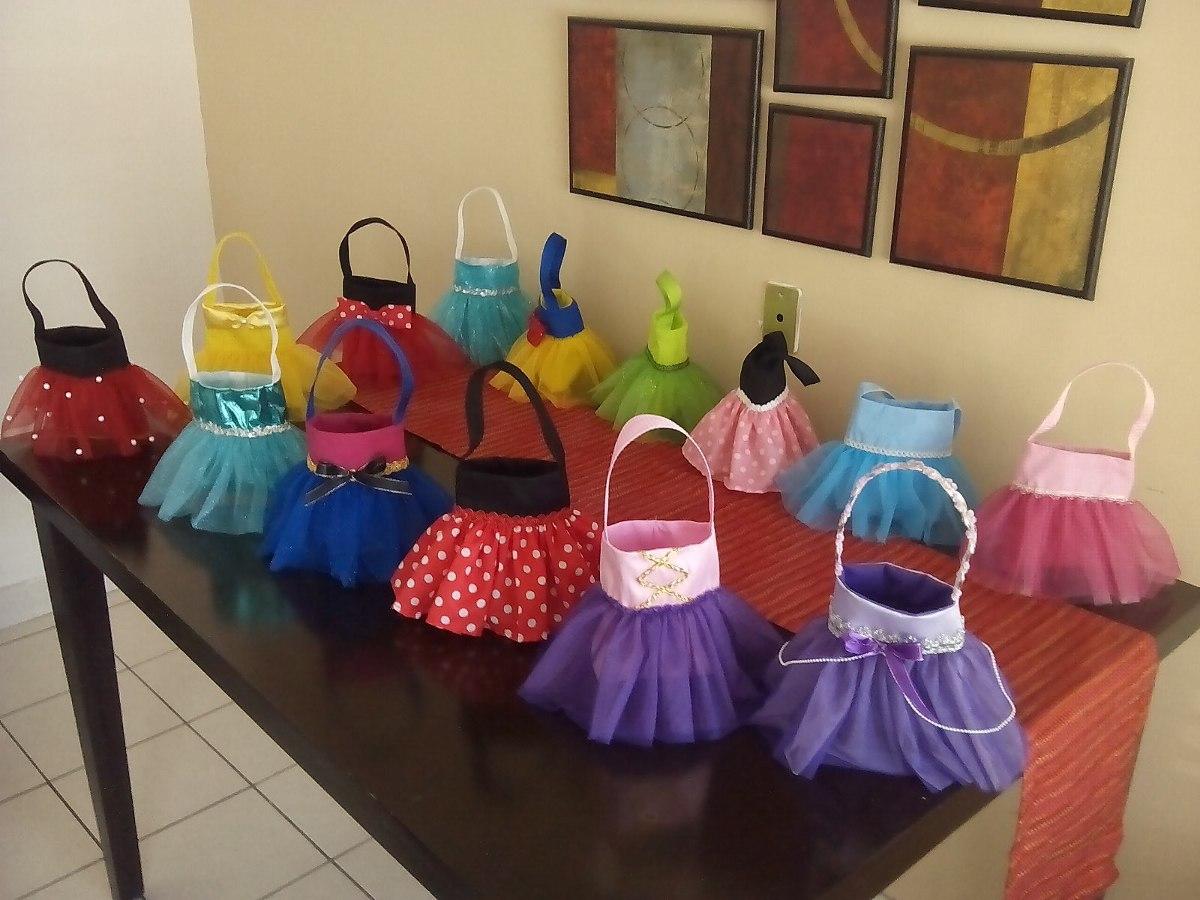 Bolsitas dulceras de tut para pi atas de princesas 30 - Pinatas para cumpleanos infantiles ...