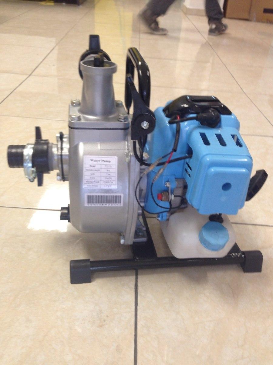 Bomba de agua motor gasolina 52cc 1 pulgada y media - Bomba de agua precio ...