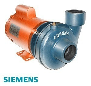 Bomba p agua de 2hp 2 x2 marca siemens 165l m hasta 42 for Bomba de agua siemens