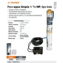 Bomba Sumergible De Agua Limpia De 1-1/2 Hp Metalica
