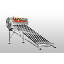 Calentador Solar Solaris 24 Tubos Acero Inoxida Envio Gratis