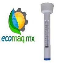 Termometro Flotante Panda Para Alberca Grados C Y F Ecomaqmx