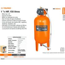 Bomba Hidroneumatica 1-1/2hp 150lts