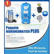 Hidroneumatico Sumergible De 1.3 Hp Con Tanque De 19 Gal Hgm