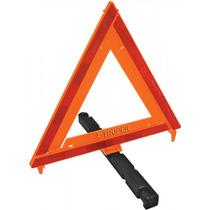 Triangulo De Seguridad De Plastico 43.5 Cm