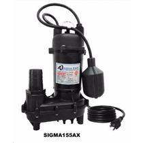 Bomba Sumergible Para Achique Aqua Pak Sigma 1/2 Hp