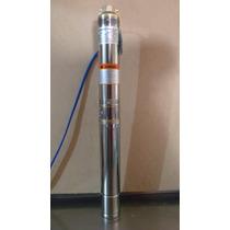 Bomba Sumergible Tipo Bala Ultradelgada 1/2 Hp. Tecnobombas
