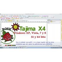 Programa Para Ponchados, Bordados Tajima 14 Dgml By Pulse X4