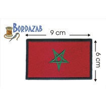 Escudo Parche Bordado Banderas De Marruecos